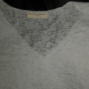 NWOT Urban Outfitters Project Social T Slub V-Neck